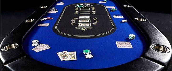 Blue Holdem Table